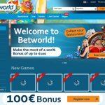 Betworld Minimum Bet
