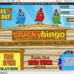 Cluckybingo Live Games