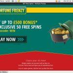 Fortune Frenzy Jackpots