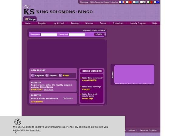 KS Bingo Create Account
