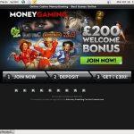 Moneygaming No Wagering