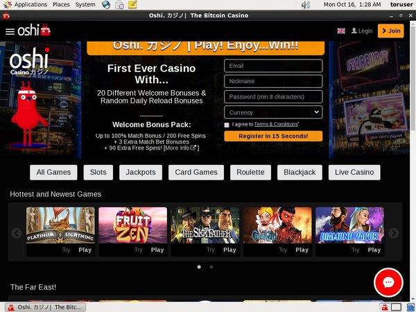 Oshi Casino Canadian