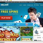 Play Million Bonuses