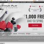 Free Platinumplay Account