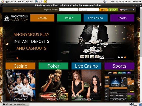 Get My Anonymous Casino Bonus?
