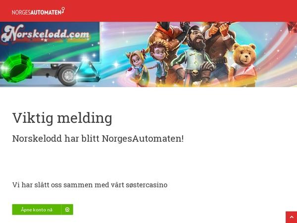Norskelodd Signup Bonus