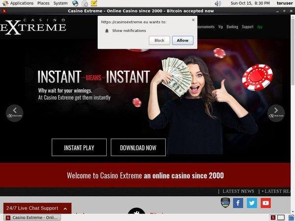 Casinoextreme Epay