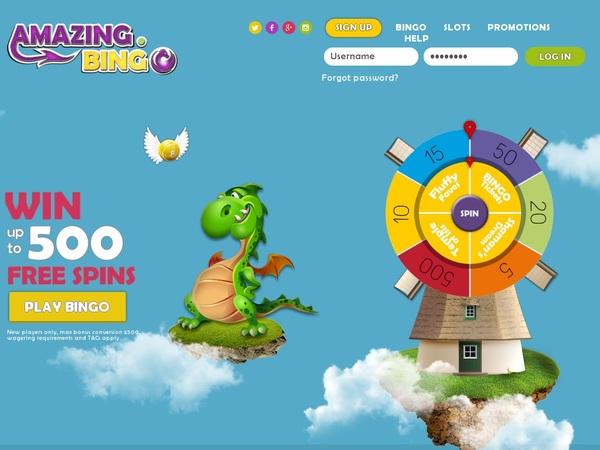 Amazing Bingo Virtual Sports