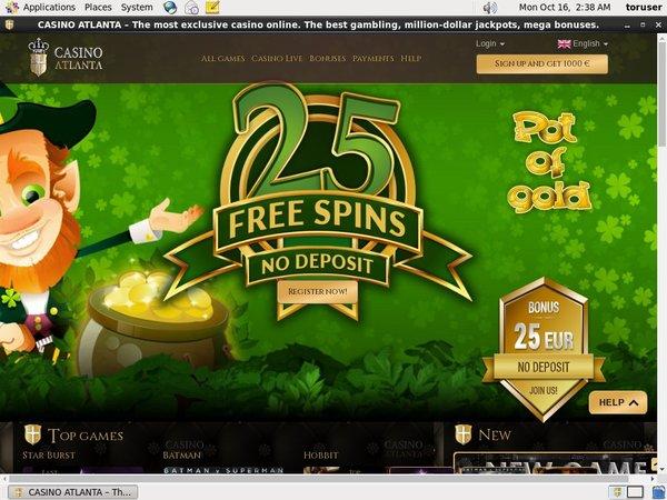 Casinoatlanta Deposit Code