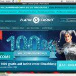 Platin Casino Baccarat Bonus