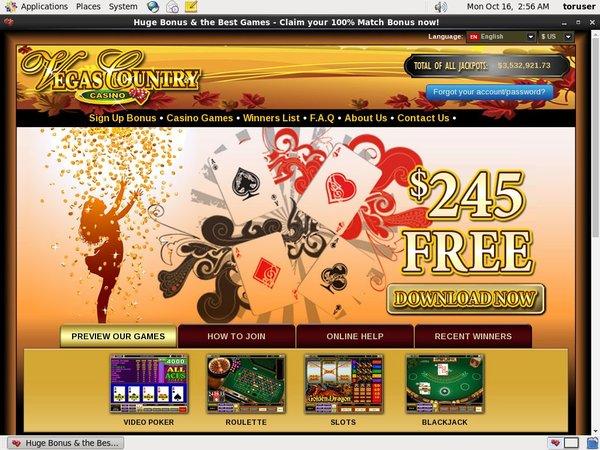 Rewards Vegas Country