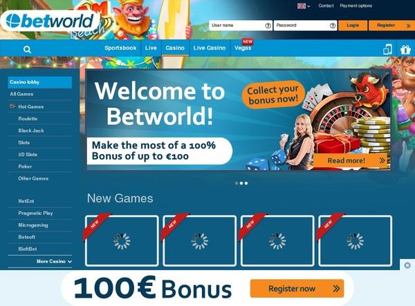 Betworld My Account