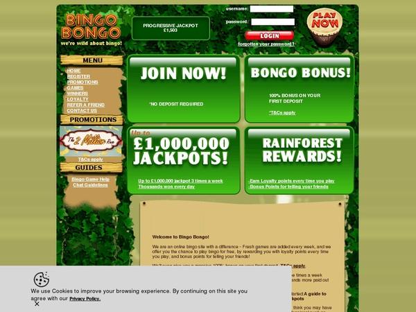 Bingobongo Bonus Code No Deposit