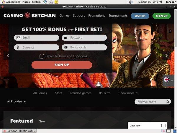 Max Betchan Deposit