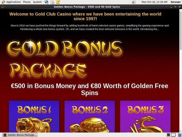 Gold Club Casino Frei Spins