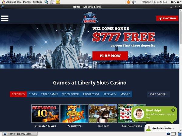 Liberty Slots Bitcoin