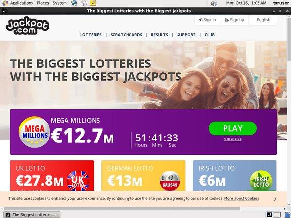 Jackpot.com Inscrivez-vous