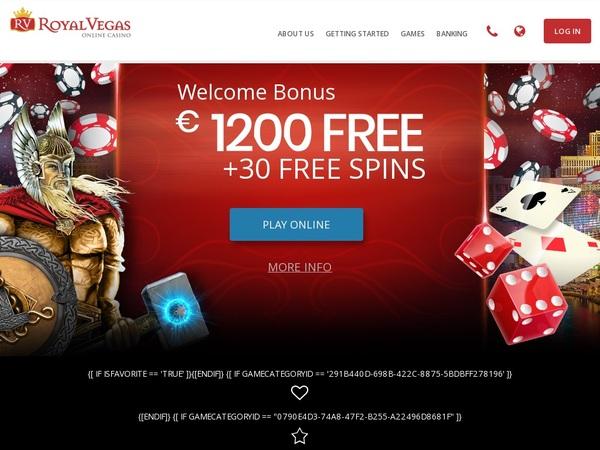Royalvegascasino New Customer Offer