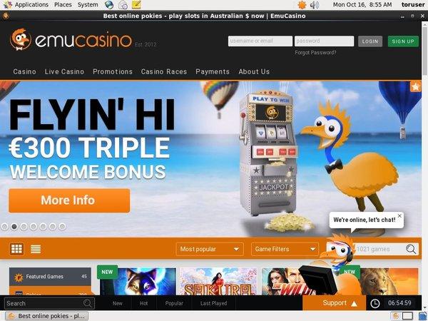Emu Casino Without Credit Card