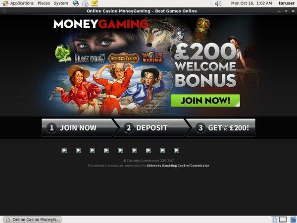 Money Gaming Site