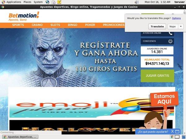 Bet Motion ES No Credit Card