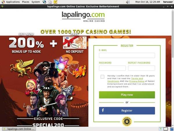Lapalingo Deposit Money